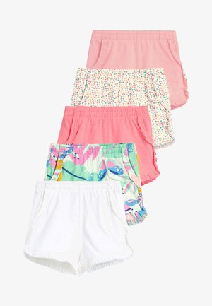 FLURO 5 PACK SHORTS (3MTHS-7YRS) - Shorts - pink