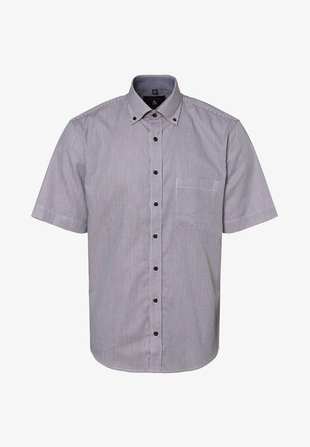 Shirt - blau rot