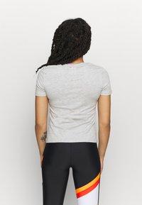 Fila - LADAN TEE - Print T-shirt - light grey - 2