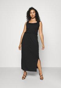 Vero Moda Curve - VMADAREBECCA ANKLE DRESS - Maxi dress - black - 0