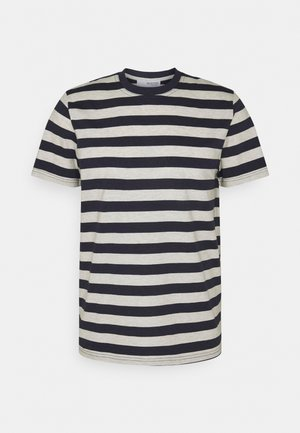 MAXWELL ONECK TEE - T-shirts med print - sky captain/melange