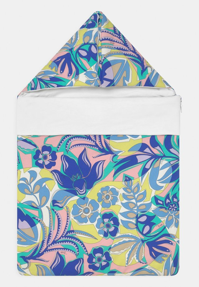 SLEEPING BAG UNISEX - Saco para silla - verde menta/giallo