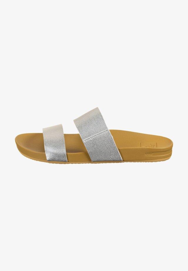 Ciabattine - silver cushion
