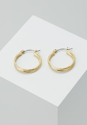 EARRINGS AIR - Pendientes - gold-coloured