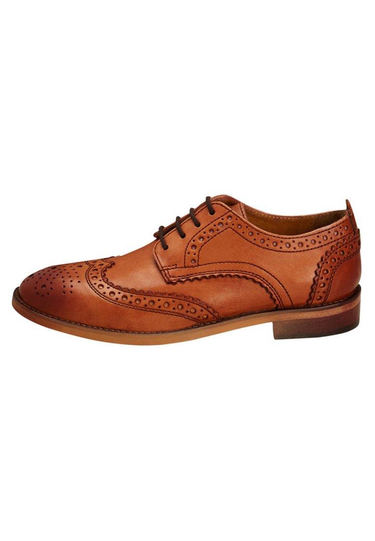 Niño TAN LEATHER BROGUES (OLDER) - Zapatos de vestir