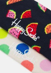 Happy Socks - 2 PACK BIG DOT AND WATERMELON SOCK UNISEX - Socks - multi - 1