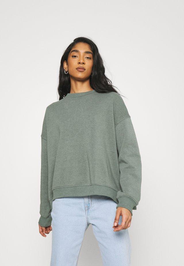 CREW WASH - Sweater - olive