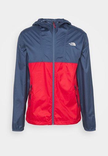 CYCLONE JACKET UTILITY - Outdoor jacket - teal/dark red