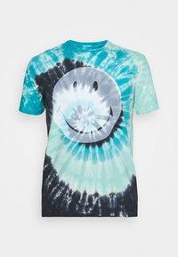 IN TEE TIDAL WAVE - Print T-shirt - blue