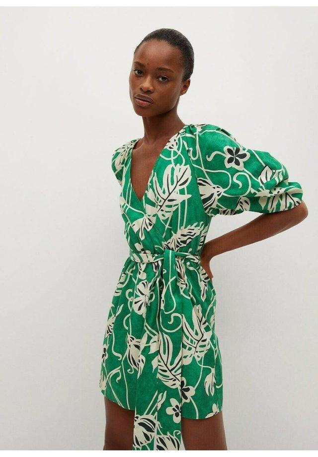 Korte jurk - grønn