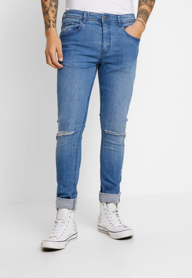 SUPER - Skinny džíny - laundry blue