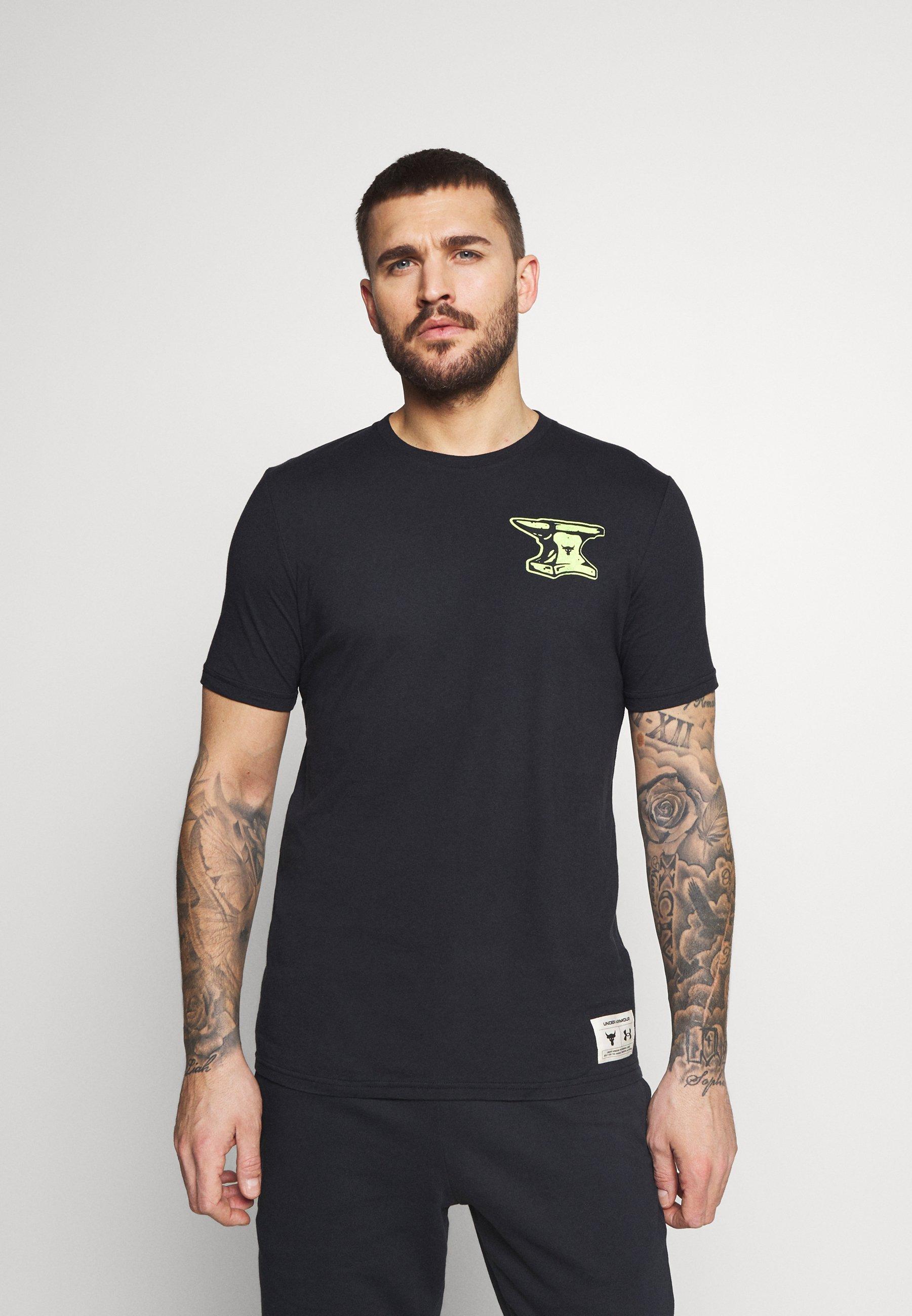 Men ROCK WRECKING CREW - Print T-shirt
