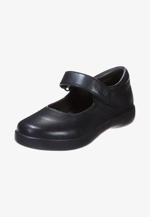 SPIRAL COMET - Baleríny s páskem - black
