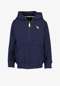 Blue Seven - BASICS - Sweater met rits - dark blue - 0