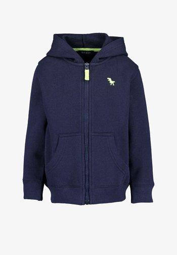 BASICS - Zip-up sweatshirt - dark blue
