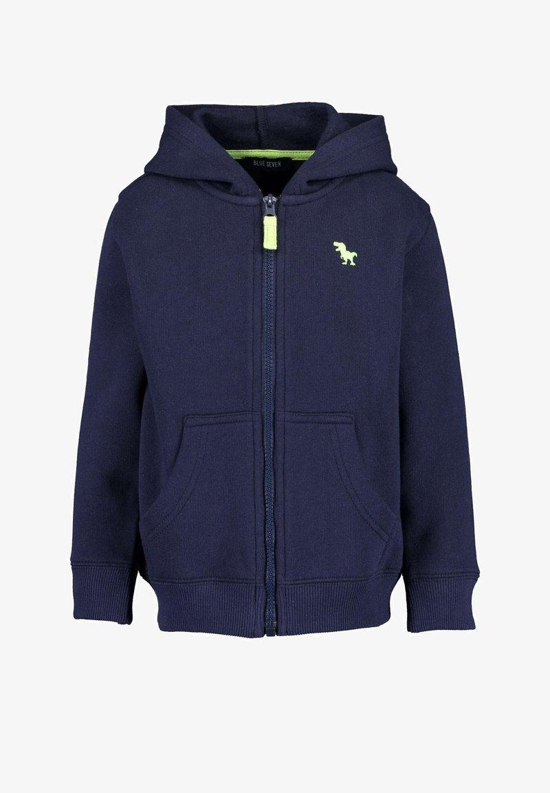 Blue Seven - BASICS - Sweater met rits - dark blue