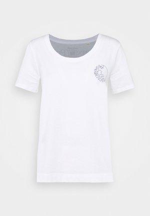 EARTH DAY TEE - Print T-shirt - white