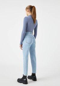 PULL&BEAR - Straight leg jeans - light blue - 3