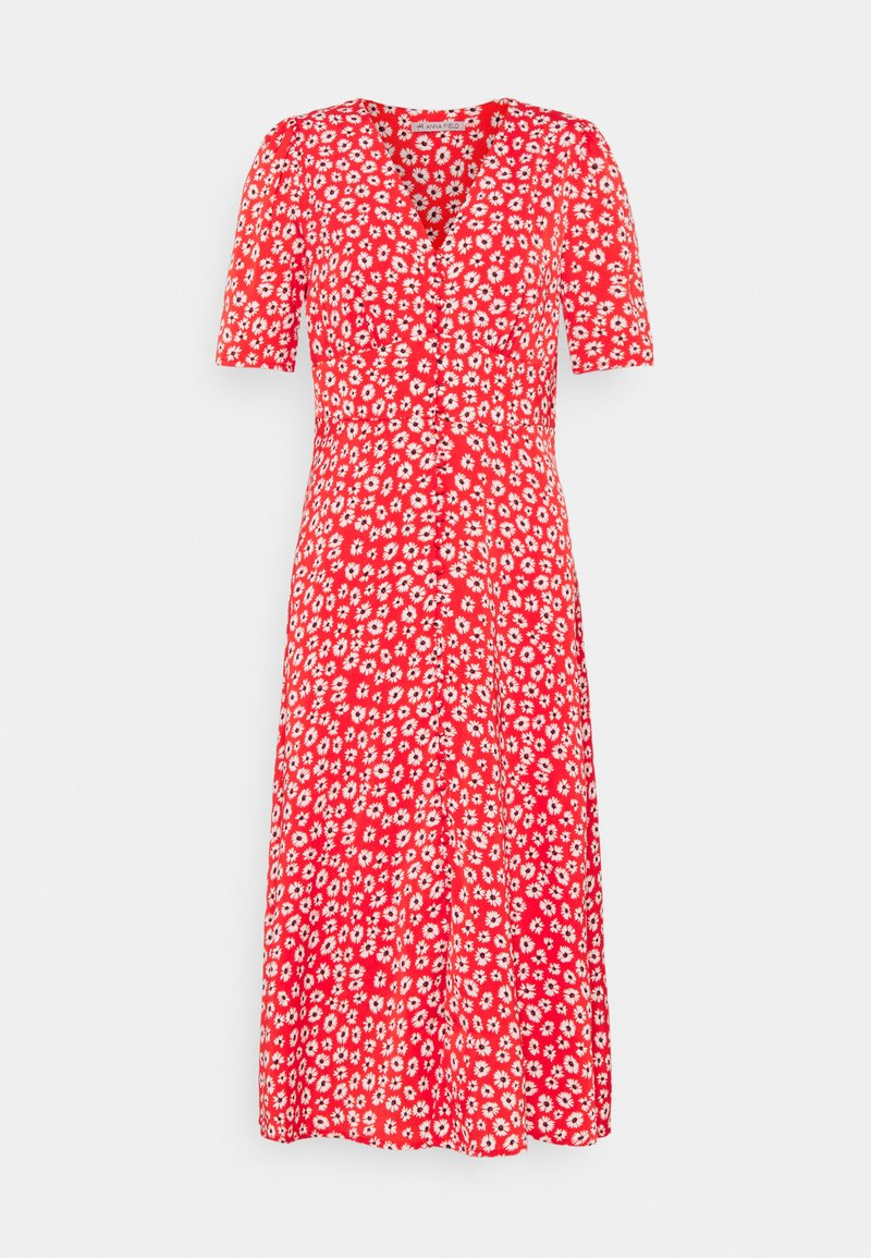 Anna Field - Maxi dress - red/white