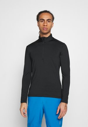 MAN  - Fleecepullover - nero