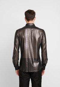 Twisted Tailor - CROSSER SHIRT - Shirt - black - 2