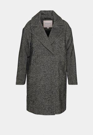 CARSOFIA COAT HERRINGBONE - Classic coat - black