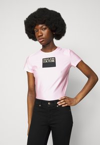 Versace Jeans Couture - LADY - Print T-shirt - pink confetti - 3