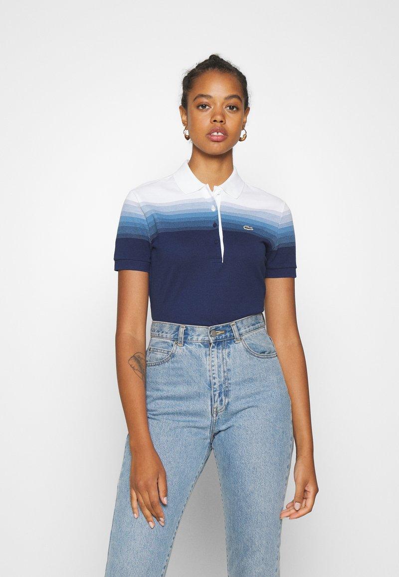 Lacoste - Polo shirt - turquin blue/white