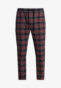 Only & Sons - ONSLINUS CHECK TAPE PANT  - Kalhoty - dress blues - 5