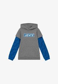 Levi's® - MICRO LOGO HOODIE - Felpa con cappuccio - grey heather - 2
