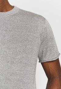 Icebreaker - FLAXEN CREWE - T-shirt imprimé - slate - 3