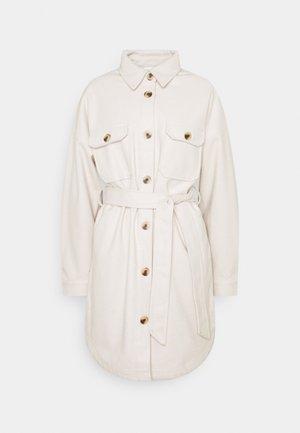 PCRIEMA JACKET - Classic coat - beige