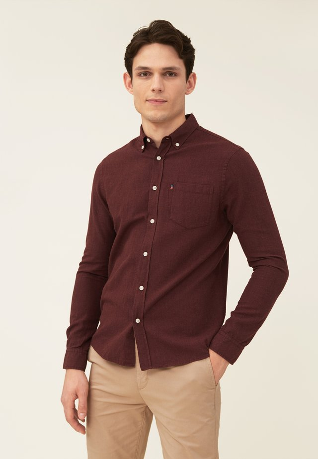 Shirt - dark red