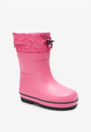 WARM LINED CUFF  - Kumisaappaat - pink