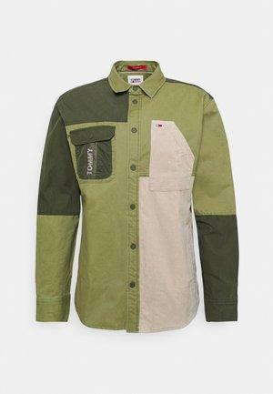 MIX OVERSHIRT - Shirt - uniform olive