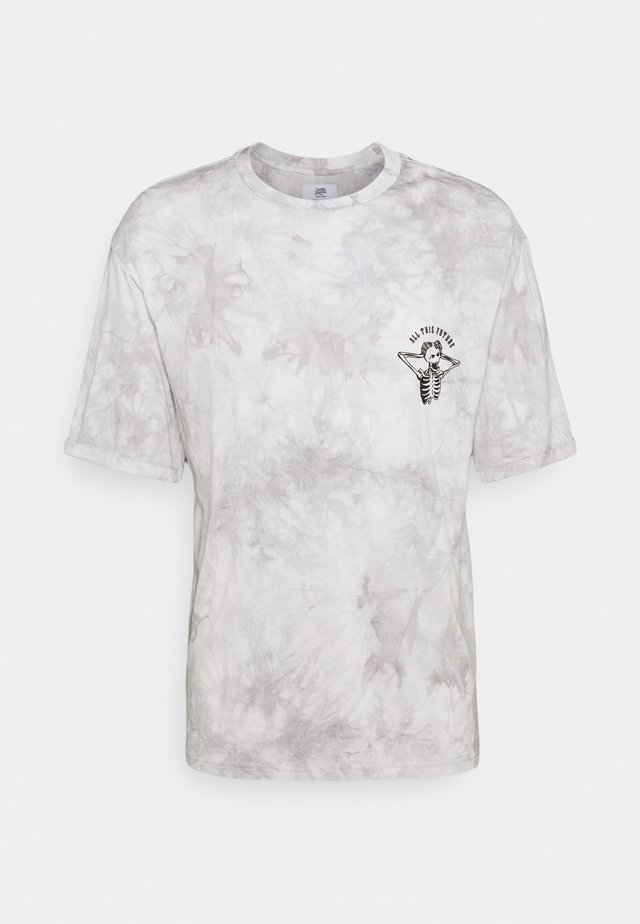 CUSTOM TIE DYE TEE - T-shirt print - black