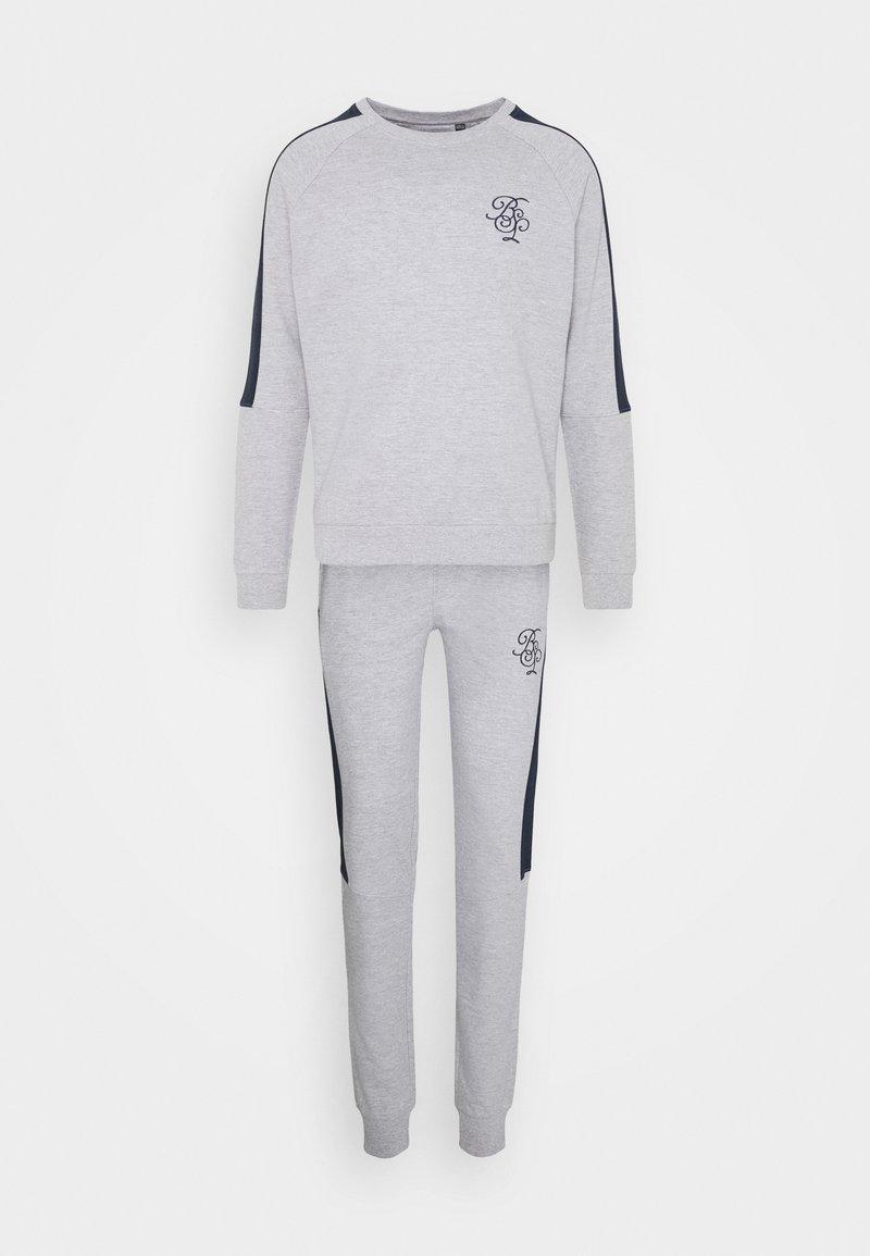 Brave Soul - ALSTON SET - Sweatshirt - grey
