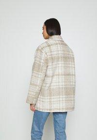 NA-KD - BRUSHED CHEST POCKET JACKET - Summer jacket - tan - 2