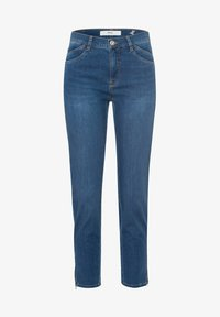 BRAX - STYLE MARY S - Slim fit jeans - used water blue - 5