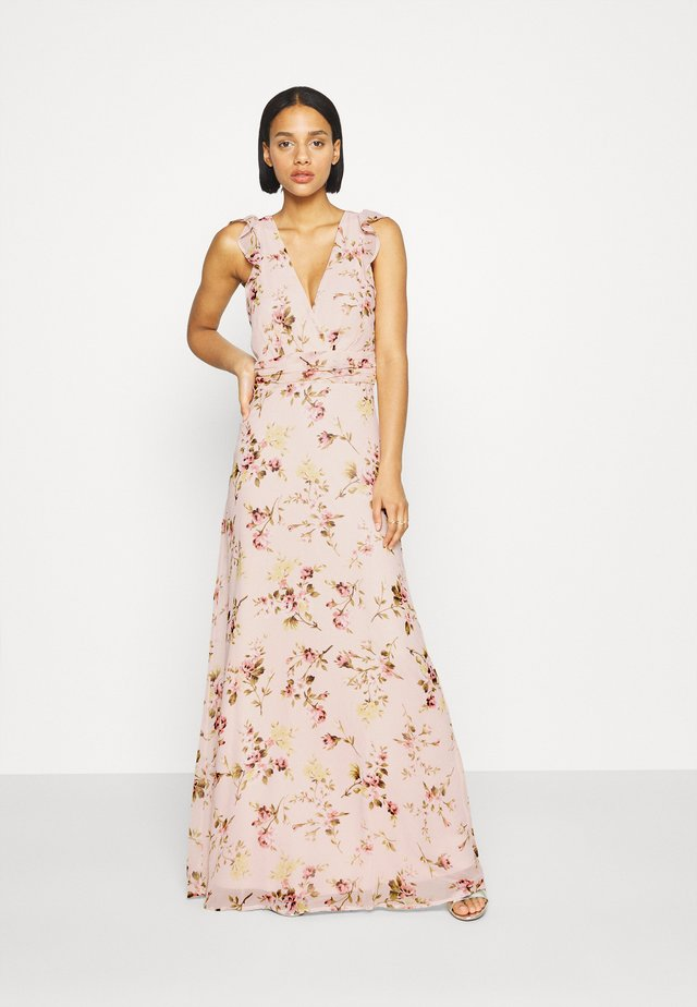 GORGEOUS FRILL GOWN - Robe longue - multicolor