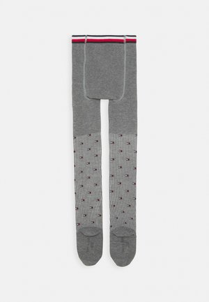 KIDS TIGHT FLAG - Tights - middle grey melange