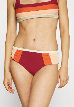 DAYS BLOCK  - Braguita de bikini - maroon