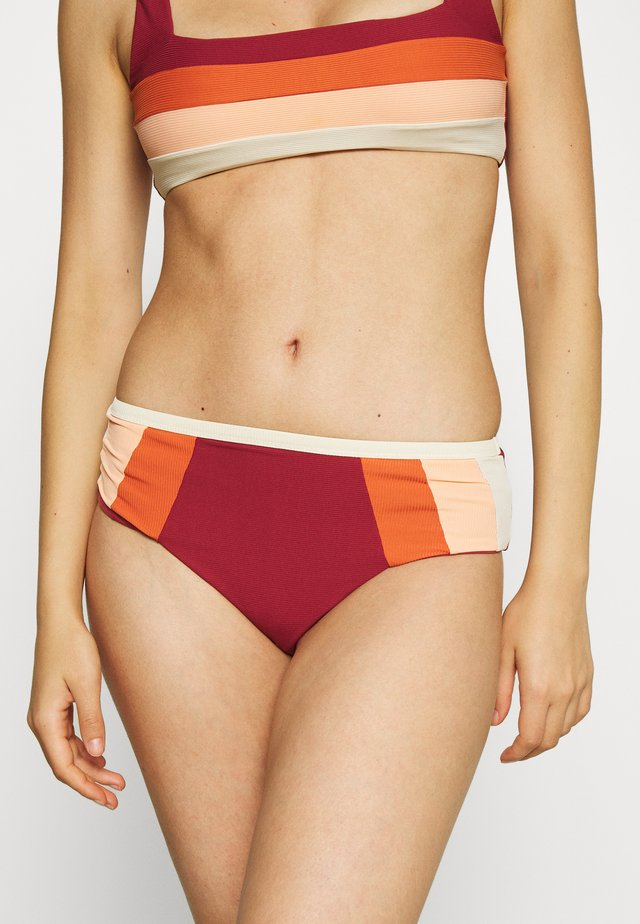 DAYS BLOCK  - Bikini bottoms - maroon