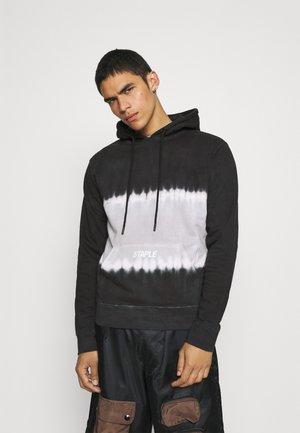 TIE DIE LOGO HOODIE UNISEX - Sweater - black