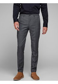 Jack & Jones PREMIUM - Suit trousers - dark grey - 0