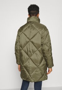 Tommy Jeans - DIAMOND QUILTED COAT - Winter coat - olive tree - 2