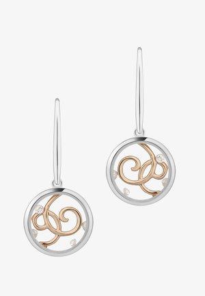 WILD SPIRIT - Oorbellen - k rose gold plating and rhod