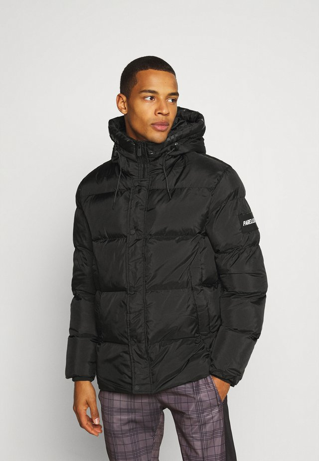 MANOR BUBBLE JACKET - Vinterjacka - black