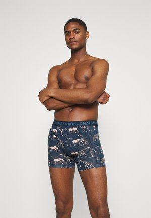 SAVANA 3 PACK - Boxerky - dark blue