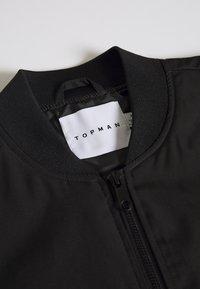 Topman - ICONIC REPEAT - Bomberjacks - black - 2